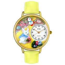 Easter Bunny Watch with Miniatures
