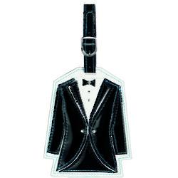 Groom's Tuxedo Luggage Tag