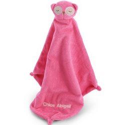 Pink Owl Mini Blankie