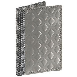Diamond Silver RFID Gusset Driving Wallet