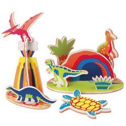 Rub-a-Dub Dinosaur Island Bath Toys