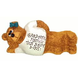 Beary Best Gardner Personalized Figurine
