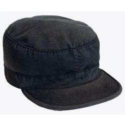 Vintage Black Fatigue Cap