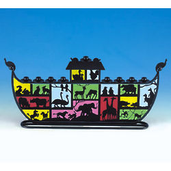 Art Deco Noah's Ark Menorah