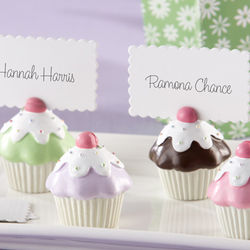 Sweet Surprise Cupcake Place Card Holders