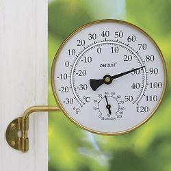 Vermont Outdoor Brass Weather Station
