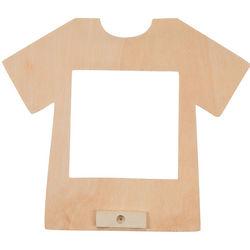 DIY Unfinished Wood T-Shirt Picture Frames Art Kit