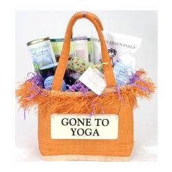 Gone To Yoga Basket