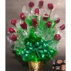 One Dozen Assorted Chocolates Bouquet