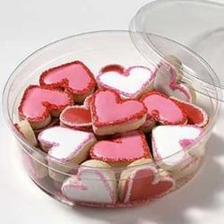 Mini Valentine's Day Cookies