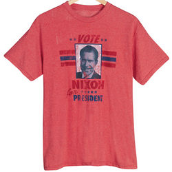 Vintage Look Nixon Presidential Election T-Shirt