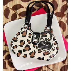 Cheetah Print Purse Manicure Set