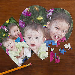 My Little Ones Personalized Photo Puzzle