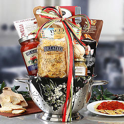 Italian Kitchen Collection Gift Basket
