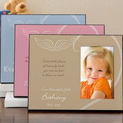 Personalized Kids Memorial Photo Frame