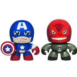Avengers Mini Muggs Captain America and Red Skull Figures