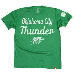 Oklahoma City Thunder Shamrock T-Shirt