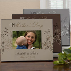 First Mother's Day Personalized Picture Frame