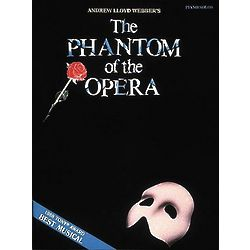 The Phantom of the Opera Piano Music Book