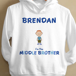 Brother Character Toddler Hooded Sweatshirt