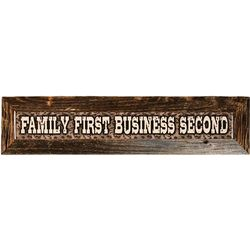 Family First Duck Dynasty Reclaimed Wood Sign