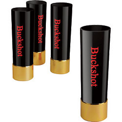 Black Buckshot Shot Glasses