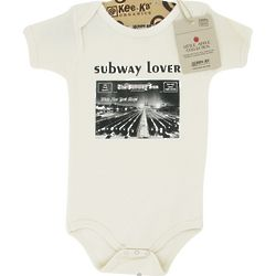 Organic Cotton Subway Lover Body Suit