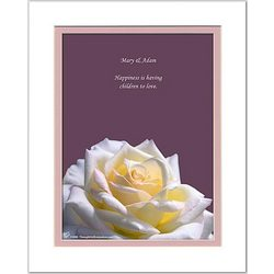 Sympathy - Memorial Personalized Rose Print