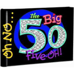 The Big 50 Photo Memory Book
