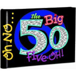 The Big 50 Photo Memory Book