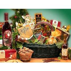 Holiday Cheer Fanfare Holiday Gift Basket