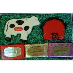 Wisconsin Dairy Farm Cheese Gift Box