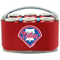 Philadelphia Phillies Quick Snap 6-Pack Cooler