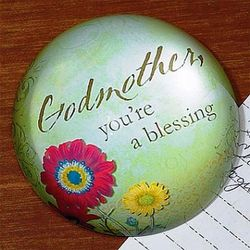 Godmother Blessing Paperweight