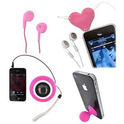 Summer Pink Combo MP3 Player and Cell Phone Package