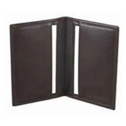 Dark Brown Old Leather Business Card Case