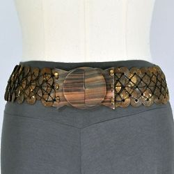 Boho Button Belt