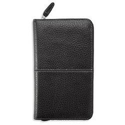 Leather Zippered Pocket Binder
