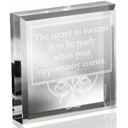 Secret to Success Paperweight