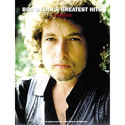 Bob Dylan's Greatest Hits Piano Music Book