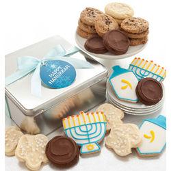 Hanukkah Cookies Gift Tin