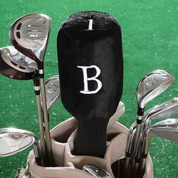 Initial Monogram Personalized Golf Club Head Cover