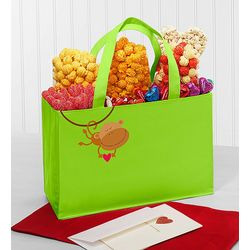 Monkey Love Popcorn Variety Tote Bag