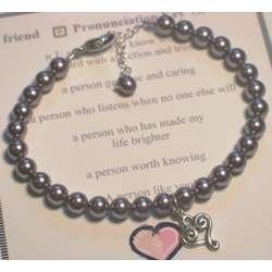 Pearls of Wisdom Friend Bracelet