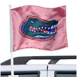 Florida Gators Pink Car Flag
