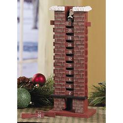 Santa in Chimney Countdown Calendar