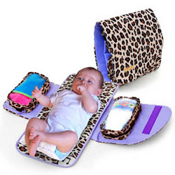 Leopard Day Tripper Baby Bag