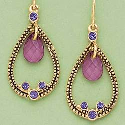 Passionate Purple Earrings