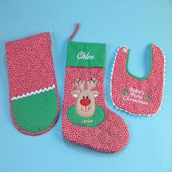 Personalized Christmas Stocking Set