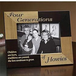 Personalized Family Generations Frames
